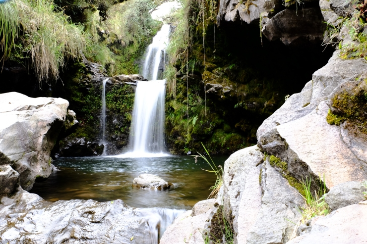Cotopaxi Waterfall