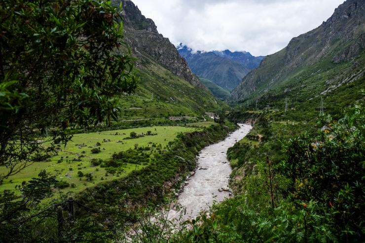 The Urubamba River
