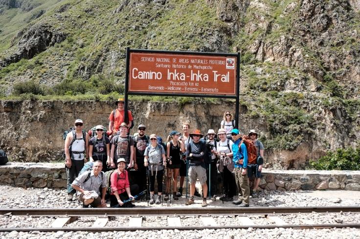 Our Inca Trail Crew