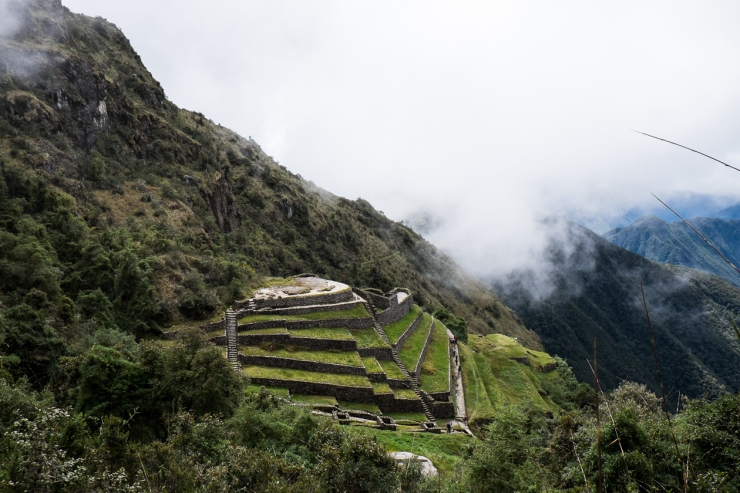 Phuyutamarca, a holy place for the Incan priests.