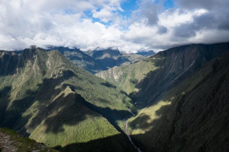 From atop Intipata.