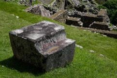 You don't want to sit here. At least I imagine you don't. I know nothing of this stone.