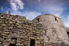 The Machu Picchu Sun Temple.