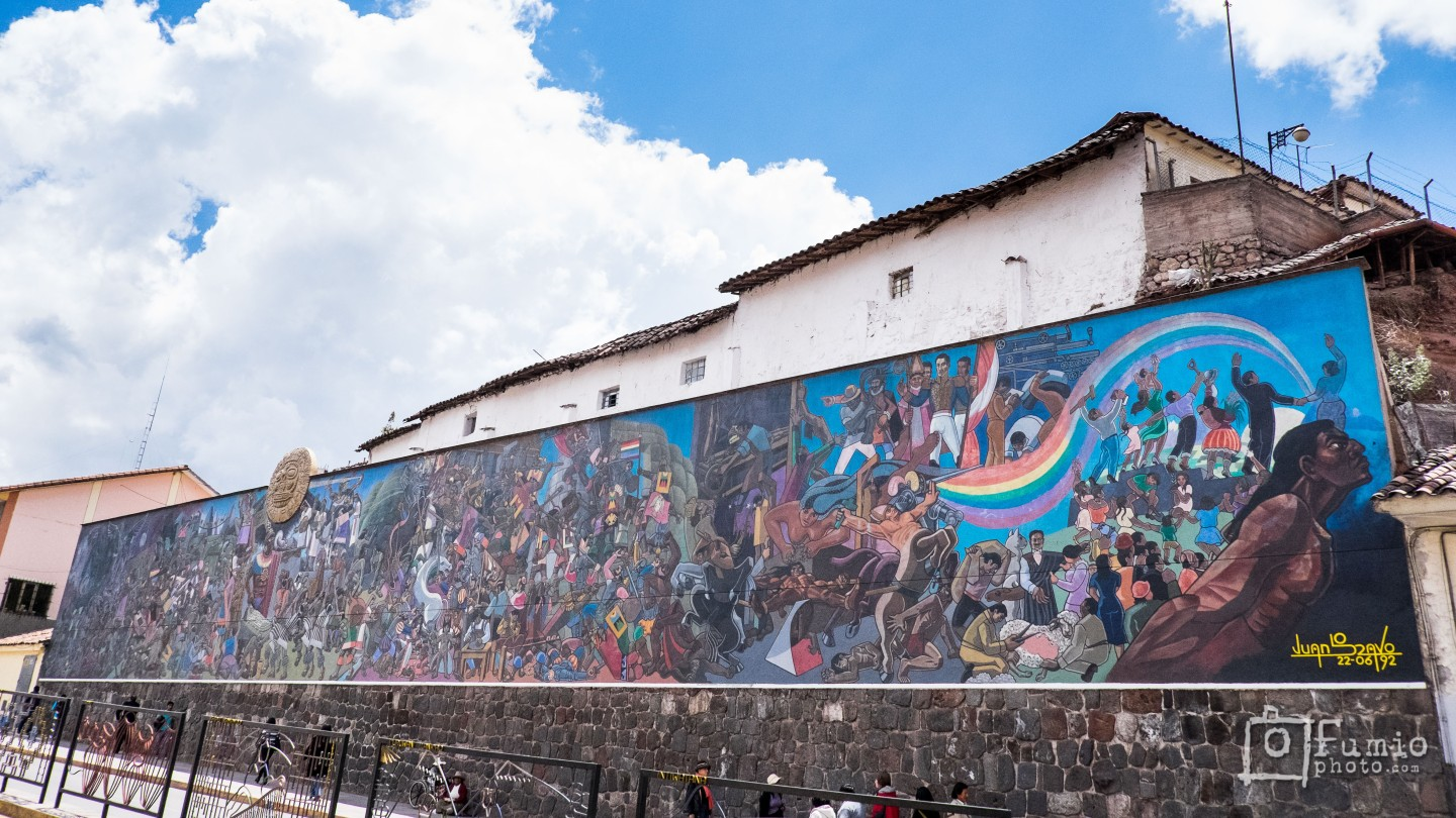 The Mural Story of Cusco