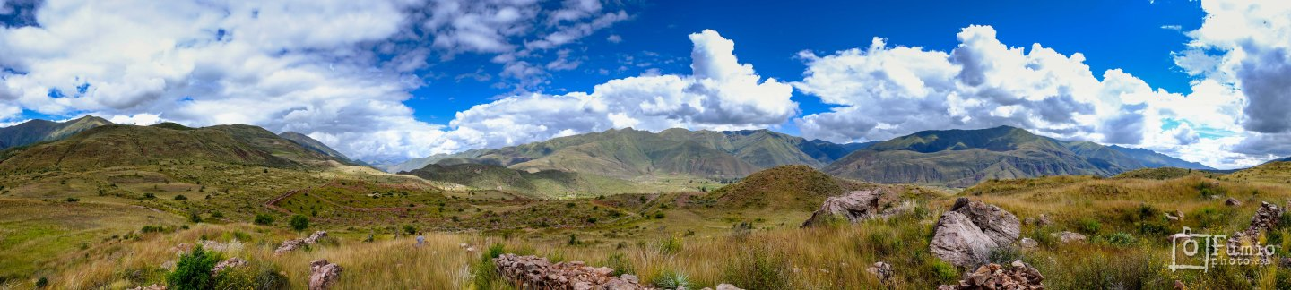 Meditation in the silence of the Andes