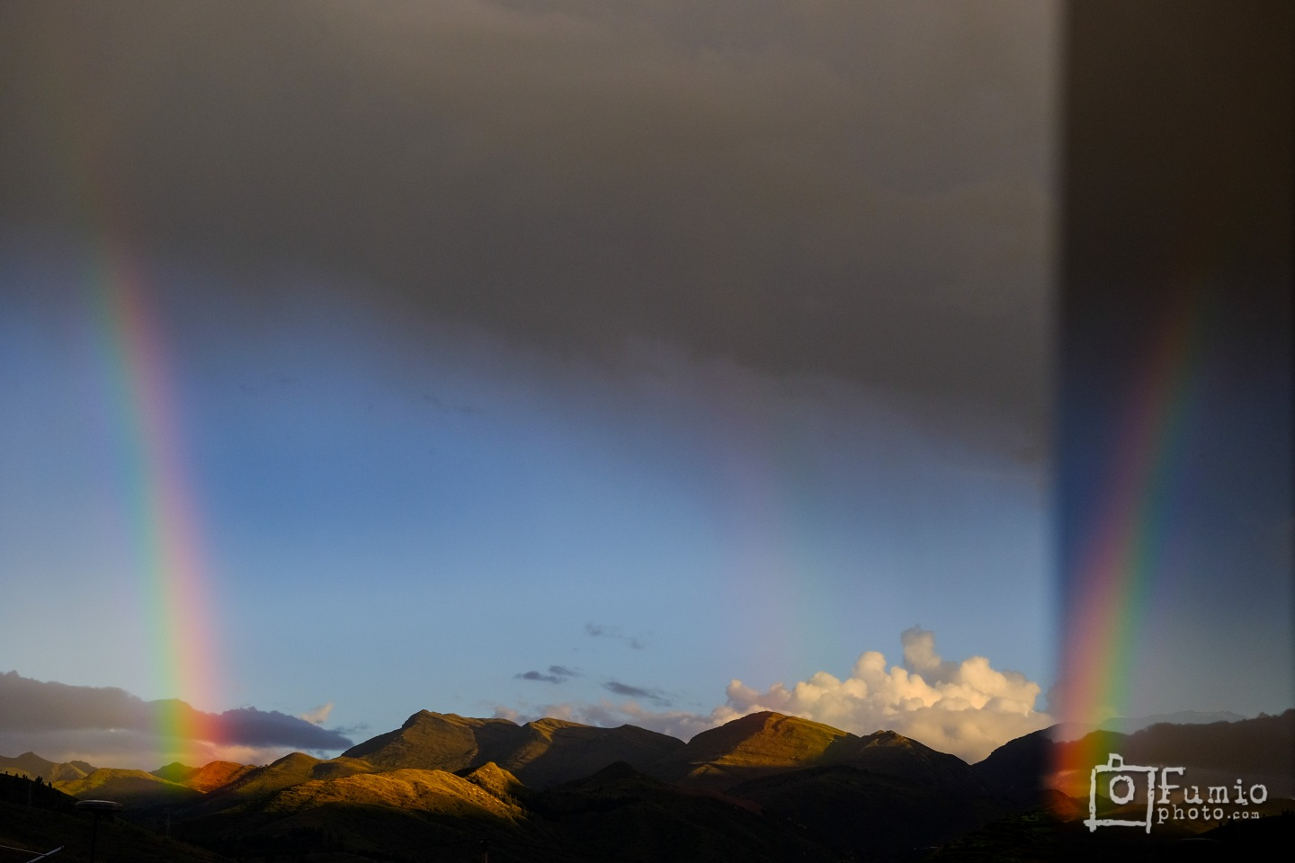 Rainbows over Cusco