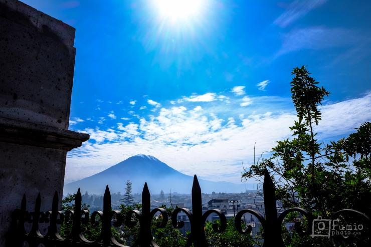 Misti Volcano - Last errupted 1985
