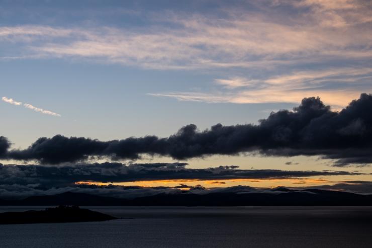 Sunrise on Isla del Sol