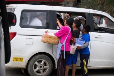 Bolivian drive-thru